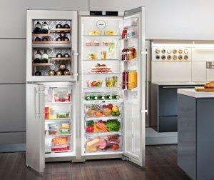Холодильник Liebherr SBSes 7165 Side-by-Side.